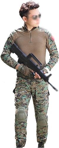 GLJJQMY SurvêteHommest de Camouflage Fin pour la pêche en Plein air, Plastique, 160 s 28