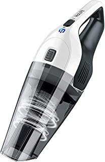 HoLife Handheld Vacuum 4KPA Portable Car Vacuum Cleaner Lightweight Hand Vac with Rechargeable 2200mAh Lithium Battery