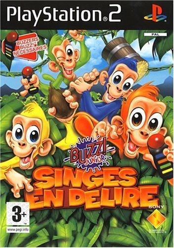 Buzz Junior singes en delire - Playstation 2 - FR