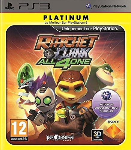 Ratchet & Clank All 4 One PS-3 Plat PEGI Move kompatibel