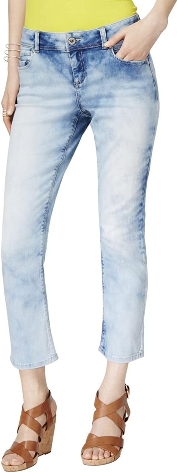 INC International Concepts Curvy Cropped Skinny Jeans