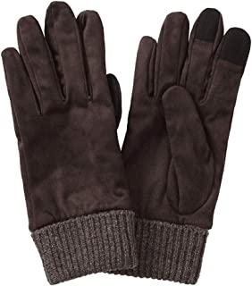 WHPSTZ Water-Resistant Touch-Screen Gloves Cashmere Gloves (Color : Brown)