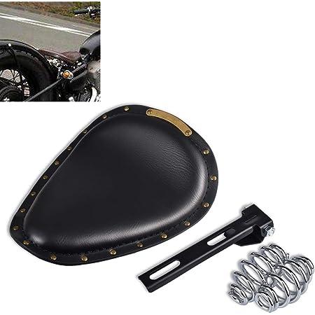 Coj/ín para asiento individual de moto para Sportster Bobber Chopper y aplicaci/ón Personalizado