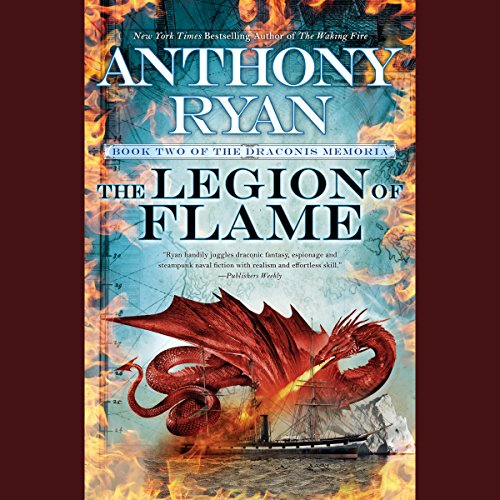 Page de couverture de The Legion of Flame