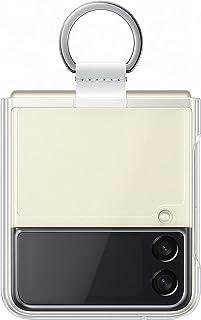 Samsung Galaxy Z Flip3 genomskinligt fodral med ring – officiellt Samsung fodral – transparent