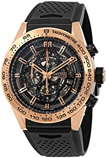 dbd6388b25b TAG Heuer Carrera Calibre Heuer 01 Rose Gold 45 mm Mens Watch CAR2A5B.FT6044