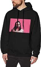 HOODER Men -Lil Wayne- Vanguard Trendy Classic Hoodie Sweatshirt Black