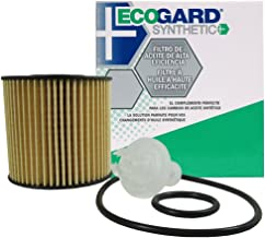 ECOGARD S5608 Cartridge Engine Oil Filter for Synthetic Oil - Premium Replacement Fits Toyota Camry, RAV4, Sienna, Highlander, Avalon, Venza, Tacoma / Lexus RX350, ES350, RX450h, ES300h, NX200t