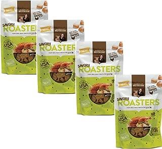 Rachael Ray Nutrish Savory Roasters Dog Treats, Roasted Chicken Recipe, 3 oz, Pack of 4
