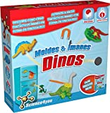 Science4you-Moldes & Imanes Dinos, Juguete científico y Educativo (486338)