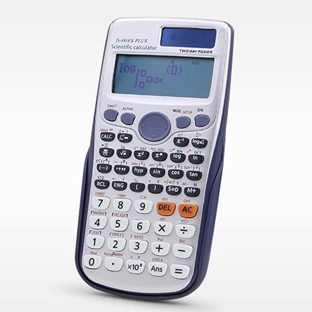 ブルーベルさようなら地区Liebye 学生関数科学計算ツール マトリックス複合解法 FX-991ES 417機能 銀色
