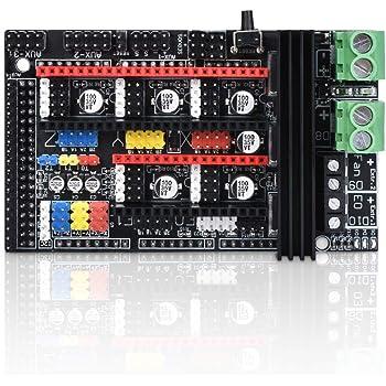 WitBot Ramps 1.6 Plus - Placa de control de expansión para placa ...