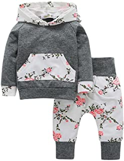 LandFox Baby Boy Girl Animals/£/¦Camouflage Hoodie Tops+Pants Clothes Set