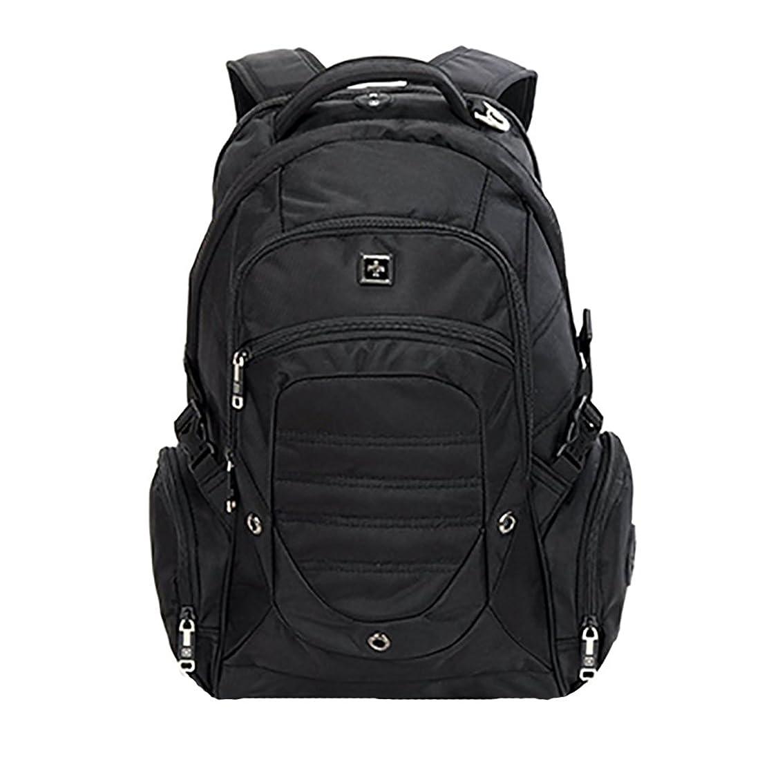 シエスタコレクション連鎖SWISSWIN リュックサック/撥水素材/大容量バッグ 大容量 38L SW9275 Black