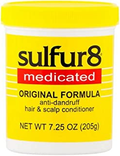 Sulfur8 Medicated Anti-Dandruff Hair and Scalp Conditioner Original Formula, 7.25 oz