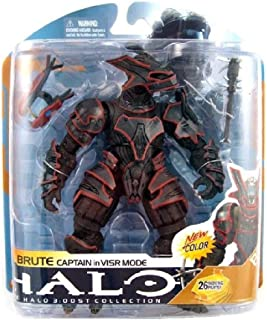 Halo 3 McFarlane Toys Series 8 Action Figure Brute Captain in VISR Mode [Toy]