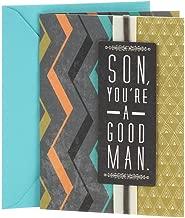 Hallmark Birthday Card for Son (Good Man, Great Son)