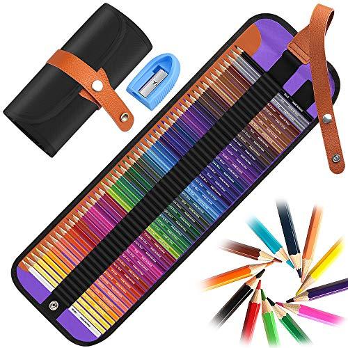 50 Buntstifte Set,DIAOCARE Bleistift Set,Professionelle Farbmischung Malen und Skizzen,Buntstiften für Erwachsene Künstler Schüler Kinder,Zeichnen Bleistifte Art Set