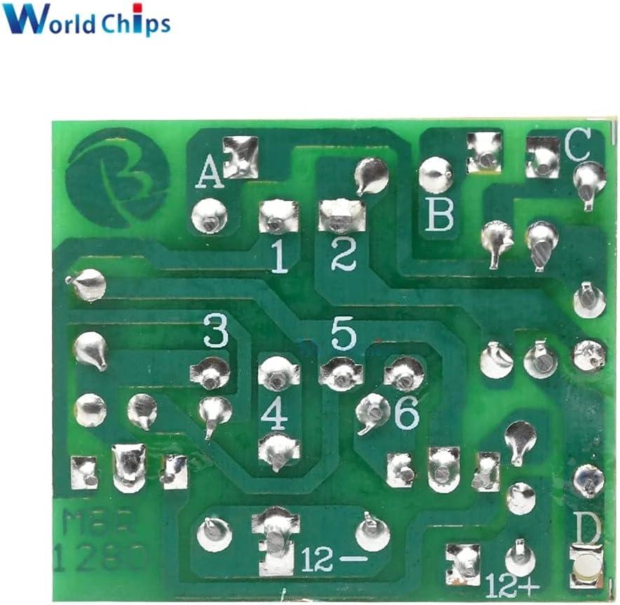 Rakstore 12V to 220V Step UP Power Module 35W DC-AC Boost Inverter Module Dual Channel Inverse Converter Booster Module Power Regulator
