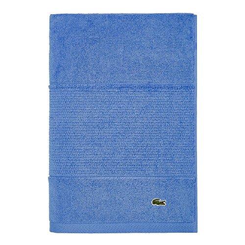 Lacoste Legend Towel Badetuch, Baumwolle, Blau - Riviera Blue, Bath Sheet