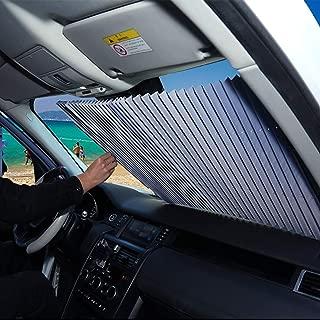Disney Car Blue Parasol Protector Solar para la Parabrisa Delantera del Coche Cubierta Protectora contra Rayos Ultravioletas Parasol Parabrisas Delantero de Coche con Dise/ño Ojos Dibujos Animados