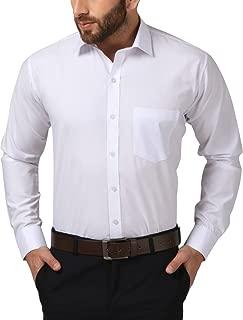 jaira creations Men's Cotton Blend Solid Formal Shirt
