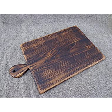 Traditional Rustic Cutting Board, Wooden Serving Board, Vintage Wood Board, Chopping Board, Bread Board, Cheese Board