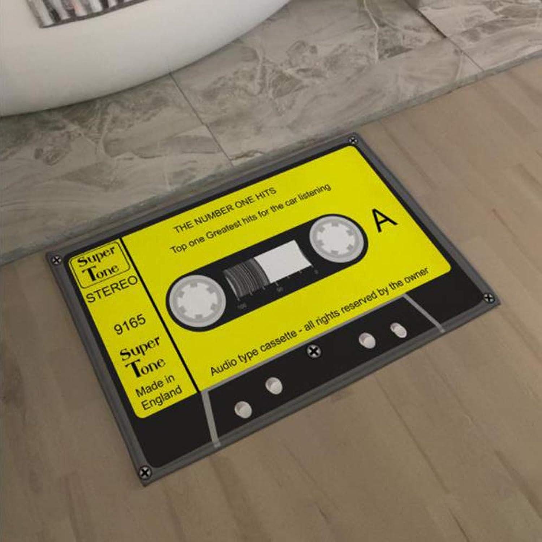KT Wasserdichte Anti-Slip-Matte, Vintage Entrance Doormat Magnetic Tape Tape Tape Tape Tape Tape Tape Teppiche Teppiche Dekorative Treppe zu Hause Decor 90  155cm,D B07KY3RNPP     | Ausgezeichnete Qualität  149863