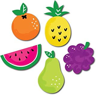 Big Dot of Happiness Tutti Fruity - DIY Shaped Frutti Summer Baby Shower or Birthday Party Cut-Outs - 24 Count