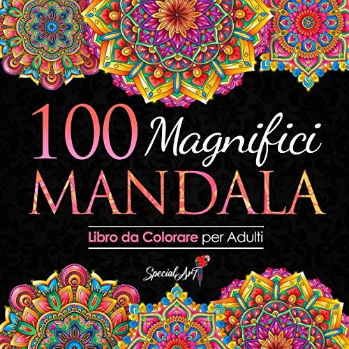 100 Magnifici Mandala da Colorare: Libro da Colorare per Adulti, Ottimo passatempo antistress per rilassarsi con bellissimi Mandala da Colorare per Adulti. (Volume 3)