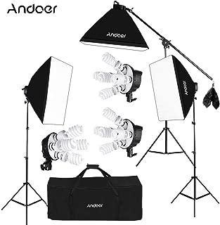 Andoer Softbox Kit de Iluminación para Photo Studio Video
