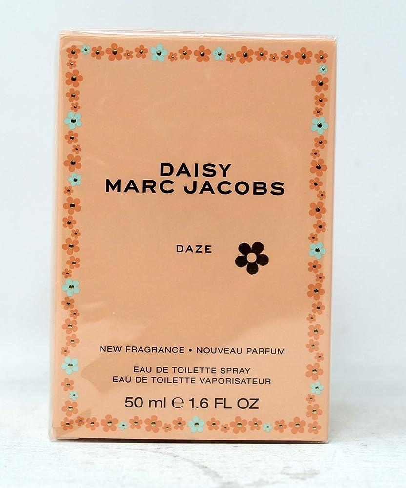 Marc jacobs daisy daze eau de toilette donna, 50 ml, profumo per donna 3614229653892