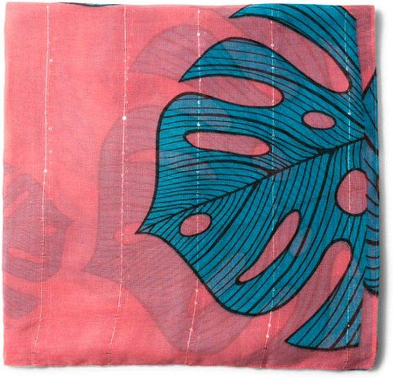 Desigual Women's 18403133PINK Pink Polyester Foulard