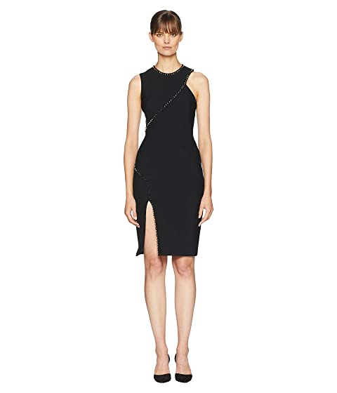 Versace Collection Stud and Slit Dress