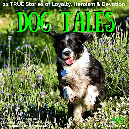 Dog Tales: 12 True Dog Stories of Loyalty, Heroism and Devotion audiobook cover art