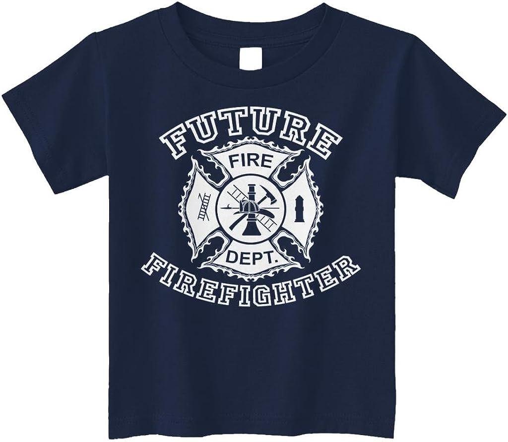Threadrock Little Boys' Future Firefighter Toddler T-Shirt