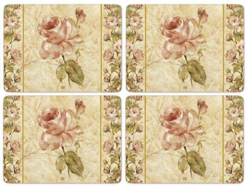 Pimpernel Antique Rose Linen Tischunterlage 4 Stück (s)