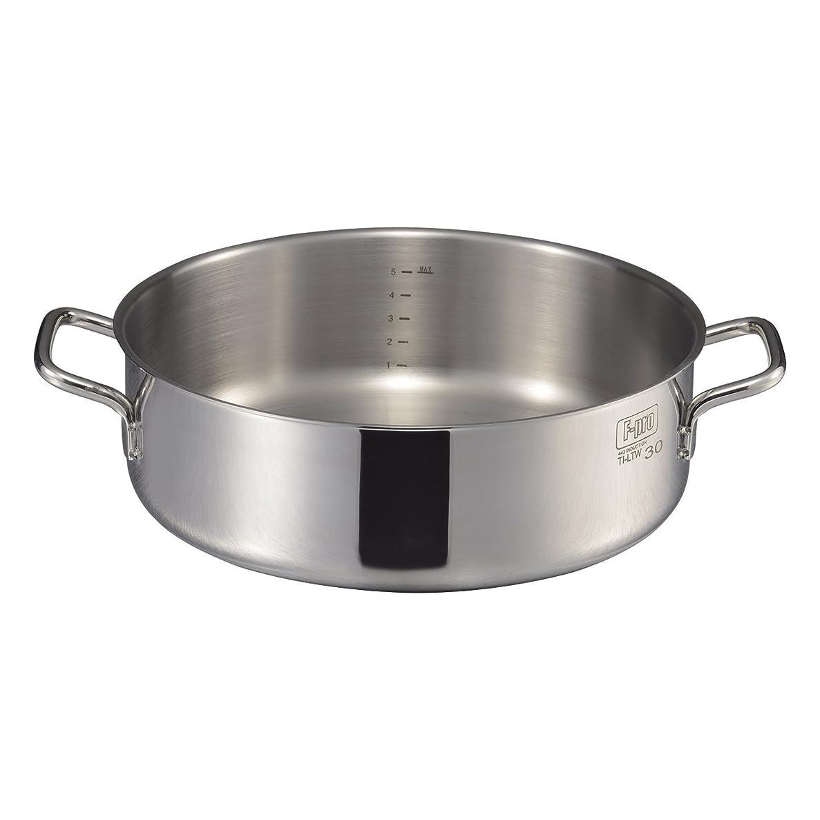MTI IH F-PRO 外輪鍋 蓋無 (目盛付) 36cm