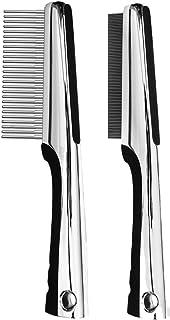 Resco Premium Rotating Pin and Flea Comb Set