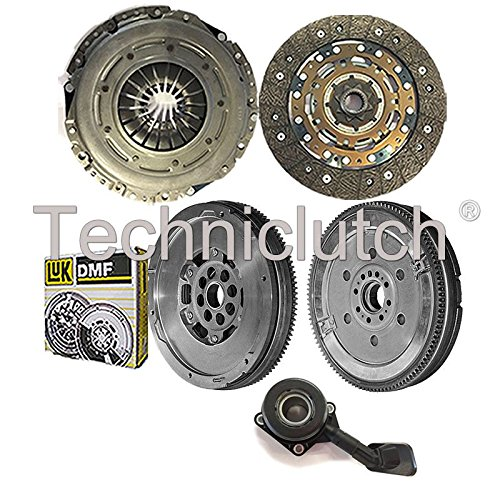 NATIONWIDE CLUTCH DISC DRIVEN PLATE AND PRESSURE PLATE AND LUK DUAL MASS FLYWHEEL AND CSC (4 PART KIT) 8944780116969