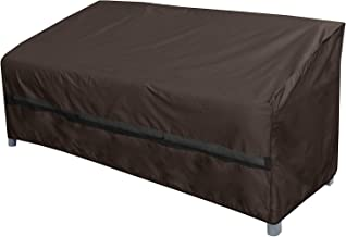 True Guard Patio Furniture Covers Waterproof Heavy Duty - Sofa or Couch Cover, 600D Rip-Stop, Fade/Stain/UV Resistant for ...