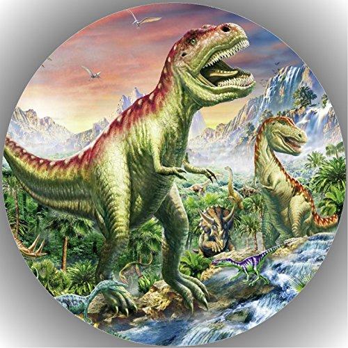 Fondant Tortenaufleger Tortenbild Geburtstag Dinosaurier AMA18