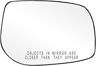 Fit System 80226 Toyota Corolla/Matrix Right Side Power Replacement Mirror Glass with Backing Plate