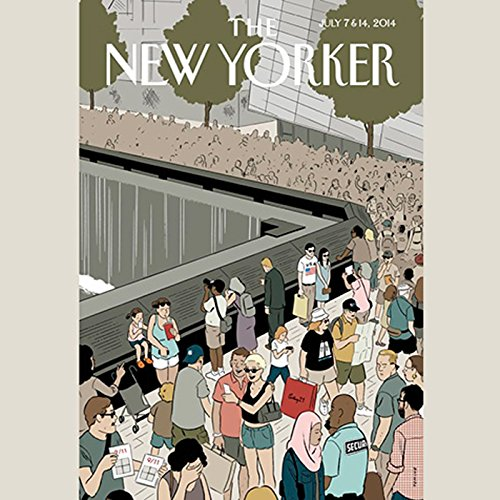 The New Yorker, July 7th & 14th 2014: Part 2 (Nathan Heller, Sasha Frere-Jones, James Surowiecki) audiobook cover art