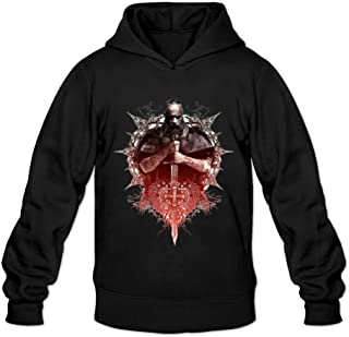 Men's The Last Witch Hunter Movie Poster Hooded Sweatshirt Black