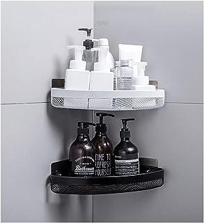 Étagère d'angle Douche Montage mural Salle de bain Douche étagère Organisateur panier d'angle for douche, cuisine Panier d...