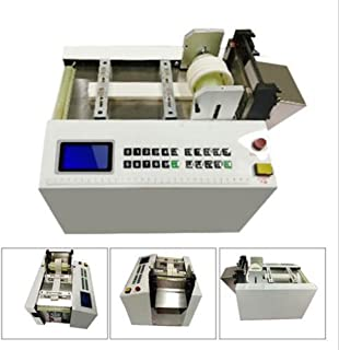 zinnor Auto Heat-shrink tube cable pipe Cutting Machine 110V/220V 300W for Sleeve, Rubber/Plastic Tube, Small Wire, Sheet, Film