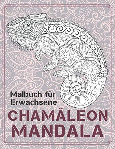 Chamäleon Mandala - Malbuch für Erwachsene 🦎