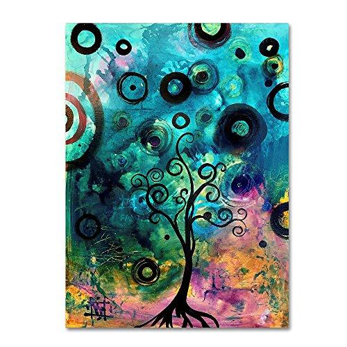Enter by Natasha Wescoat, 24x32-Inch Canvas Wall Art