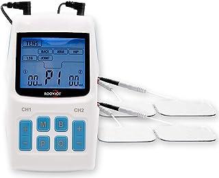 EMS TENS 3-en-1   unidad de corriente de estimulación con 34 programas para el tratamiento del dolor  estimulador muscular